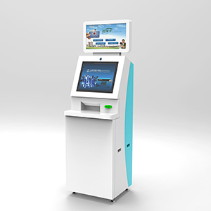 Financial Payment Kiosk with Top LCD Screen