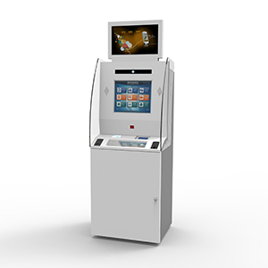 Payment Kiosk with Cash and Coin out Function