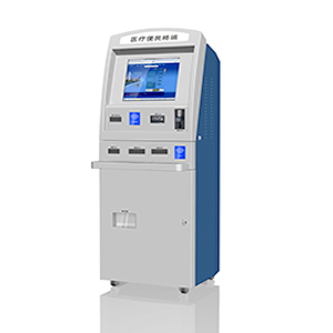 Coin and Cash Payment Kiosk