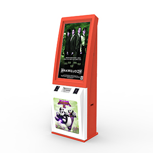 Cinema Tickets Printing Kiosk with QR code Scanner