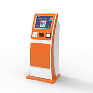 19inch Touch Monitor Ticket Dispense Kiosk