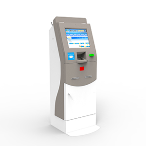 Ticket Kiosks with Bank Card Reader and Barcode Reader
