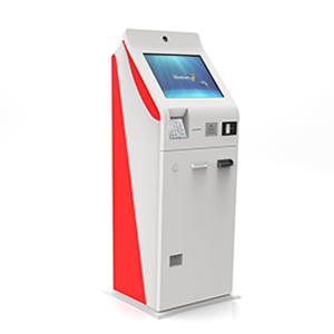 Payment Kiosk with Ticket Dispenser