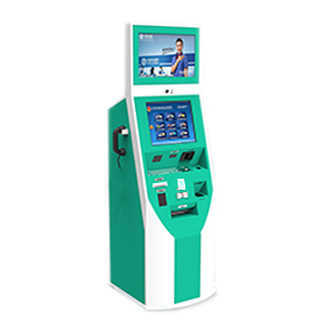 Customize Payment Kiosk with Passport Reader and Cash Dispenser
