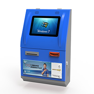 Wall Mounted Kiosk with IC Card Reader